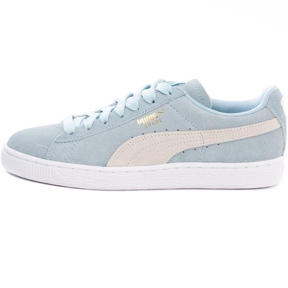 light blue puma shoes - 61% OFF